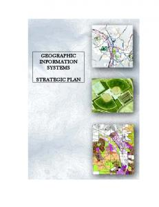 GEOGRAPHIC INFORMATION SYSTEMS STRATEGIC PLAN