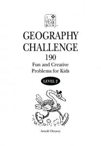 GEOGRAPHY CHALLENGE - Good Year Books