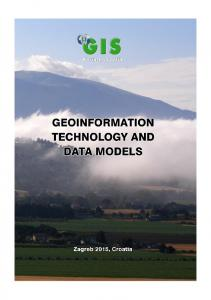 geoinformation technology and data models