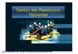 Gestion des Ressources Humaines - High Technology School