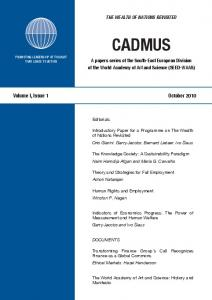 Get Full Text in PDF - Cadmus Journal