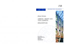 Ghrelin, obesity and type 2 diabetes Genetic, metabolic and ... - Jultika