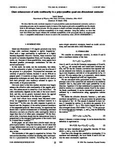 Giant enhancement of cubic nonlinearity in a
