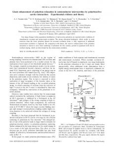 Giant enhancement of polariton relaxation in semiconductor ...