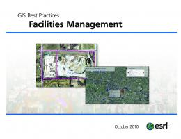 GIS Best Practices for Facilities Management - Esri