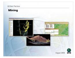 GIS Best Practices for Mining