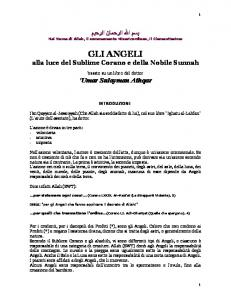 GLI ANGELI - The Islamic Bulletin