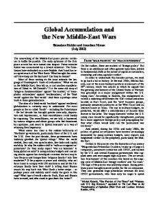 Global Accumulation and