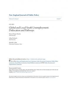 Global and Local Youth Unemployment: Dislocation and Pathways
