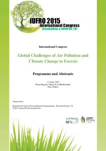 Global Challenges of Air Pollution and Climate Change to Forests