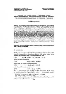 global convergence of a posteriori error estimates for the