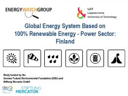 Global Energy System Based on 100% Renewable
