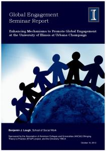 Global Engagement Seminar Report - Publish @ Illinois.edu (PIE)