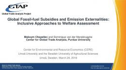 Global Fossil-fuel Subsidies and Emission ...