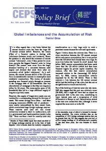 Global Imbalances and the Accumulation of Risk