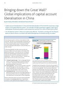 Global implications of capital account liberalisation in ... - SSRN papers