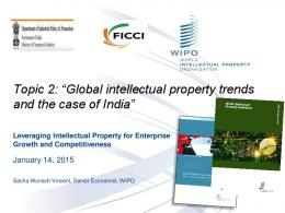 Global intellectual property trends and the case of India