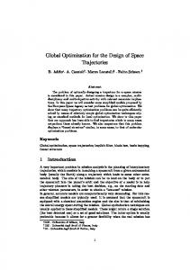 Global Optimization for the Design of Space ... - Optimization Online