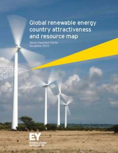 Global renewable energy country attractiveness and ... - Ernst & Young