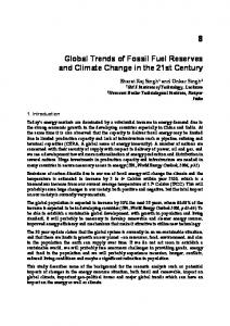 Global Trends of Fossil Fuel Reserves and Climate ...