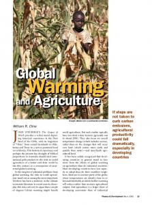 Global Warming and Agriculture - IMF