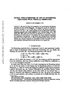 Global well-posedness of the 2D Boussinesq equations with vertical ...