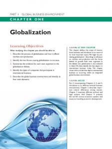 Globalization - Pearson Education