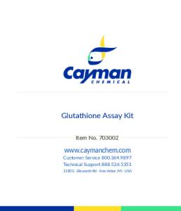 Glutathione Assay Kit - Cayman Chemical