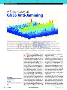 GNSS Anti-Jamming - Inside GNSS