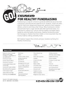 GO! For Healthy Fundraising