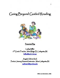 Going Beyond Guided Reading