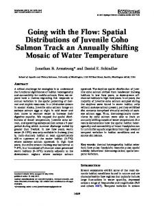 Going with the Flow: Spatial Distributions of ... - Semantic Scholar