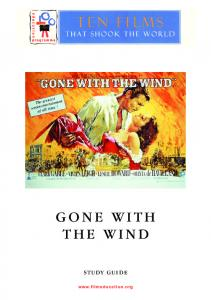 Gone with the Wind study guide - Film Education