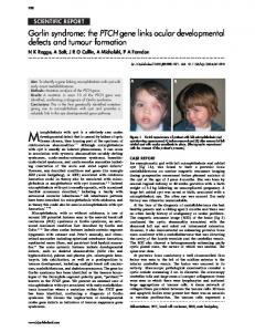 Gorlin syndrome - PubMed Central Canada
