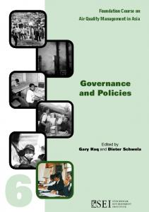 Governance and Policies - Stockholm Environment Institute