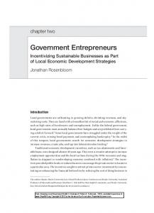 Government Entrepreneurs - SSRN papers
