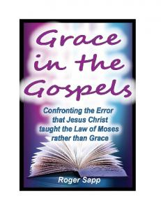 Grace in the Gospels - Nations Ministries
