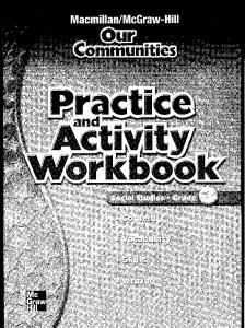 Grade 3 Practice and Activity Workbook - Macmillan/McGraw-Hill