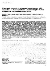 granulocyte colony-stimulating factor - BioMedSearch