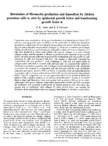 granulosa cells in vitro by epidermal growth factor and ... - Reproduction