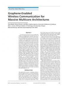 Graphene-Enabled Wireless Communication for ... - IEEE Xplore