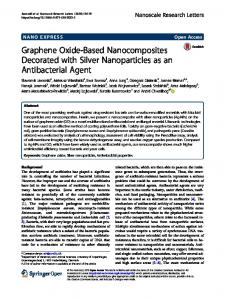 Graphene Oxide-Based Nanocomposites