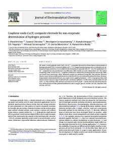 Graphene oxide-Cu(II) composite electrode for non ...
