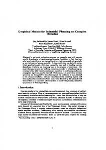 Graphical Models for Industrial Planning on ... - Semantic Scholar