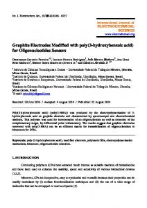 Graphite Electrodes Modified with poly(3-hydroxybenzoic acid) for ...