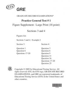 GRE Practice Test 1 18 Point Figures
