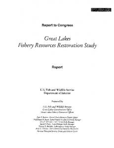Great Lakes Fishery Resources Restoration Study - US Fish and ...
