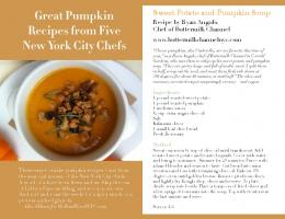 Great Pumpkin Recipes from Five New York City Chefs