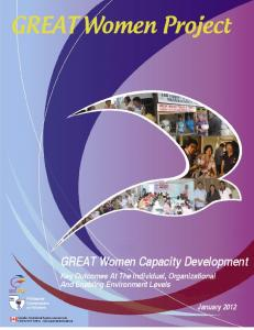 GREAT Women capacity development - Philippine Commission on ...