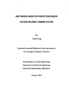 grey-model based ice prediction sensor system on ... - OhioLINK ETD